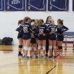 Girls MS JV Red Volleyball beats PC Jr. 2 – 1