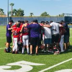 Boys Middle School Football Protects the Nest and Beats North Phoenix Prep.