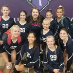 Girls MS JV Red Volleyball vs. Valley Christian 2 – 1