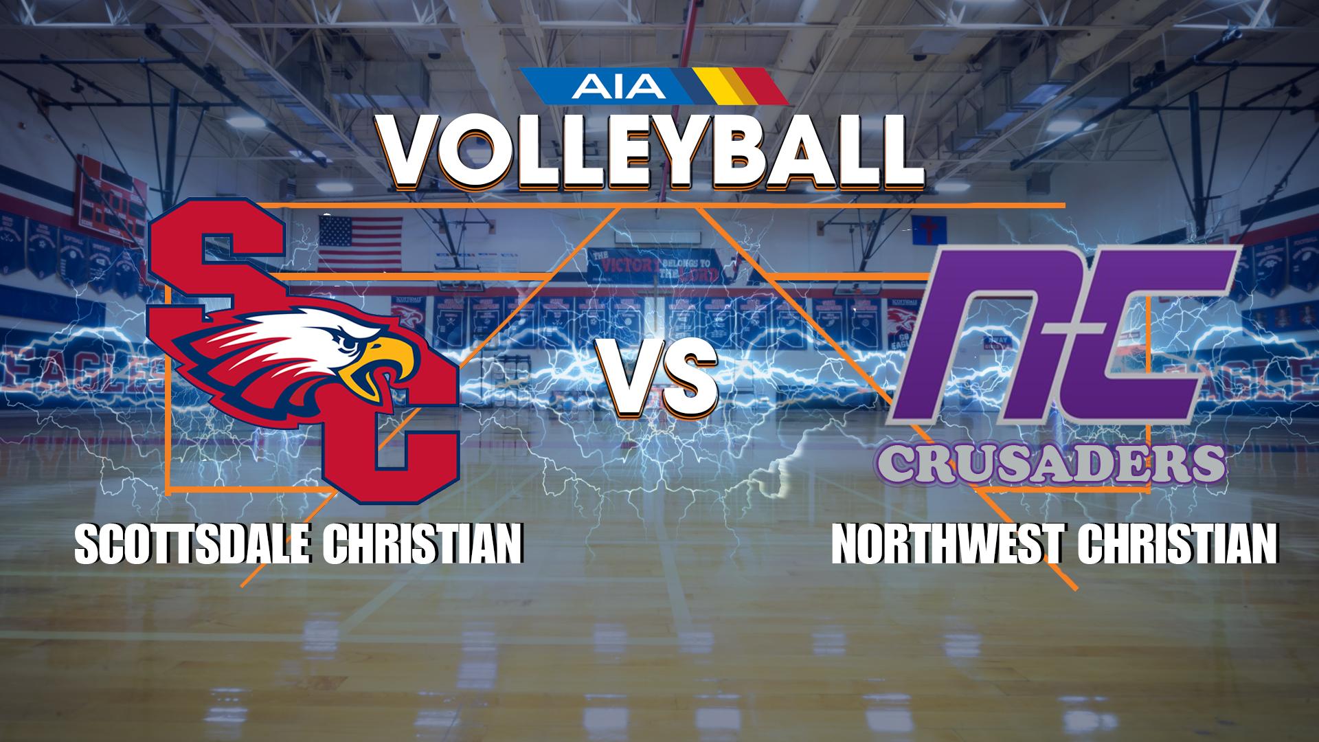 SCA vs. Northwest Christian – Girls Volleyball LIVE ONLINE  @ 6PM