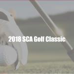 2018 SCA Golf Classic