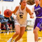 Girls Varsity falls to rival Valley Christian 38 – 31