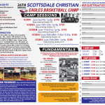 26th Annual Scottsdale Christian Eagles Basketball Camp Sign-Ups Are Here!
