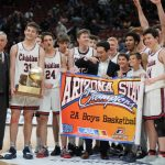 SCA Boys Win State Championship defeating Alchesay 72-41!
