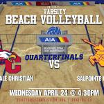 Girls Quarterfinals Beach Volleyball State Tournament – LIVE