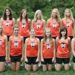 2012-13 Girls Cross Country Team