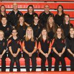 2012 Girls JV-Varsity Bowling Team photo