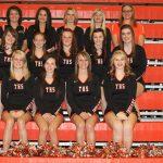 2012 Girls Varsity Competitive Cheer Team photo