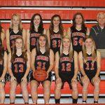 2012 Girls JV Basketball Team photo