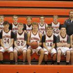 2012 Boys Freshman Basketball Team photo