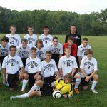 2013 Boys JV Soccer Team Photo