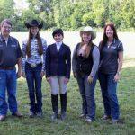 2013 Varsity Equestrian Team Photo