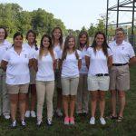 2013 Girls Varsity Golf Team Photo