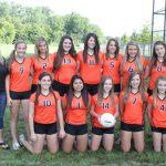 2013 Girls Freshman Volleyball Team Photo