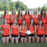 2013 Girls JV Volleyball Team Photo