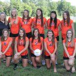 2013 Girls Varsity Volleyball Team Photo