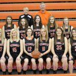 2013 Girls Varsity Basketball Team Photo