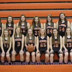 2013 Girls JV Basketball Team Photo