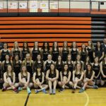 2014 Girls' Varsity Track Team