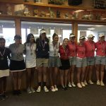 Tecumseh High School Girls Varsity Golf finishes 8th place