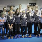 Girls Varsity Gymnastics finishes 1st place at Teacher Appreciation Night