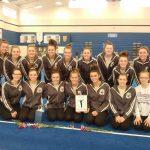 Girls Varsity Gymnastics finishes 1st place at SCGL Championships