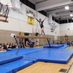 Girls Varsity Gymnastics finishes 1st place at Edsel Ford HS