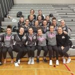 Girls Varsity Gymnastics finishes 4th place at MHSAA Regionals