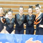 Girls Varsity Gymnastics finishes 5th place at MHSAA Individual State Finals