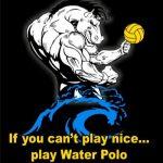 Denton Bronco Water Polo logo