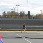 Silverton High School Girls Varsity Tennis beat Lebanon High School 8-0