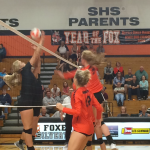 Volleyball Falls to West Albany