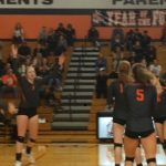 Volleyball Tops Central