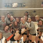 Volleyball Wins Franklin Tourney