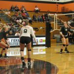 Volleyball Falls to Corvallis