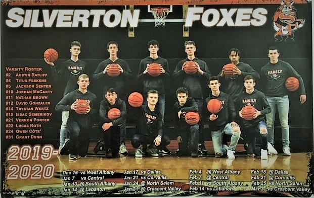 Boys Basketball '19-'20