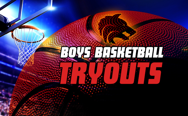 Boys Basketball Tryouts! Get Your Go Pass!