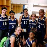 Girls Varsity Basketball falls to Albermarle HS 55 – 7
