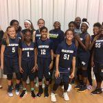 Girls Middle School Basketball beats Carolina International School 27 – 18