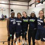 Girls Middle School Basketball beats Corvian 21 – 11