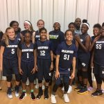 Girls Middle School Basketball beats Queens Grant 38 – 8
