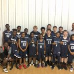 Boys Middle School Basketball beats Queens Grant 38 – 27