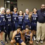 Girls Varsity Basketball falls to Union Academy 79 – 4