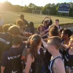 Track team captures first conference title
