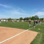 Niles High School Varsity Baseball falls to Portage Northern High School 6-2