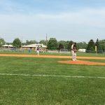 Niles High School Varsity Baseball beat St Joseph 3-2