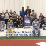 Coed Varsity Wrestling finishes 1st place at Defiance Ohio Boarder War