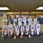 2017-2018 Men's Varsity Basketball Team