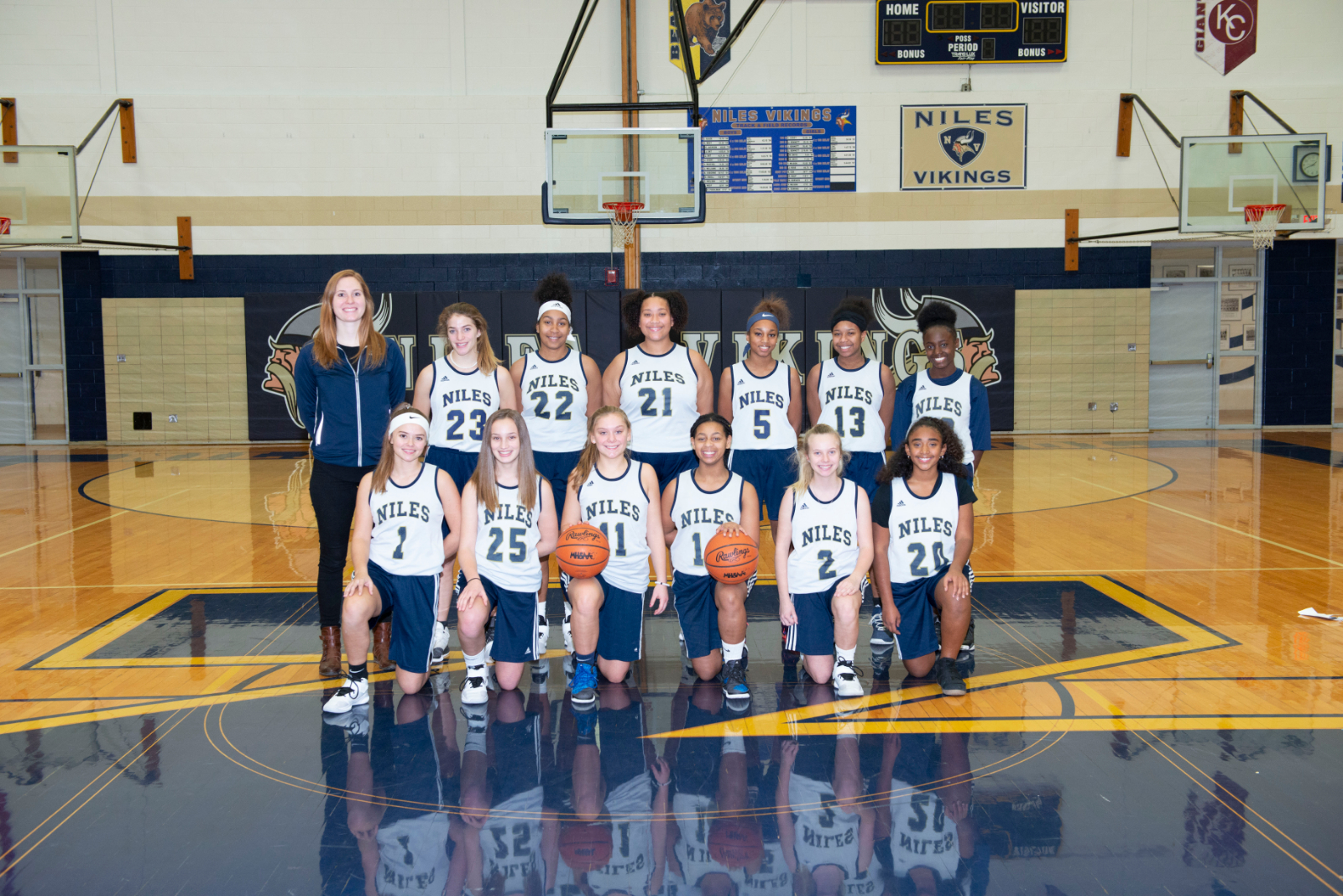 2018 JV Women's Basketball