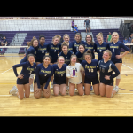 Niles JV Volleyball takes home first at Bronson Invite